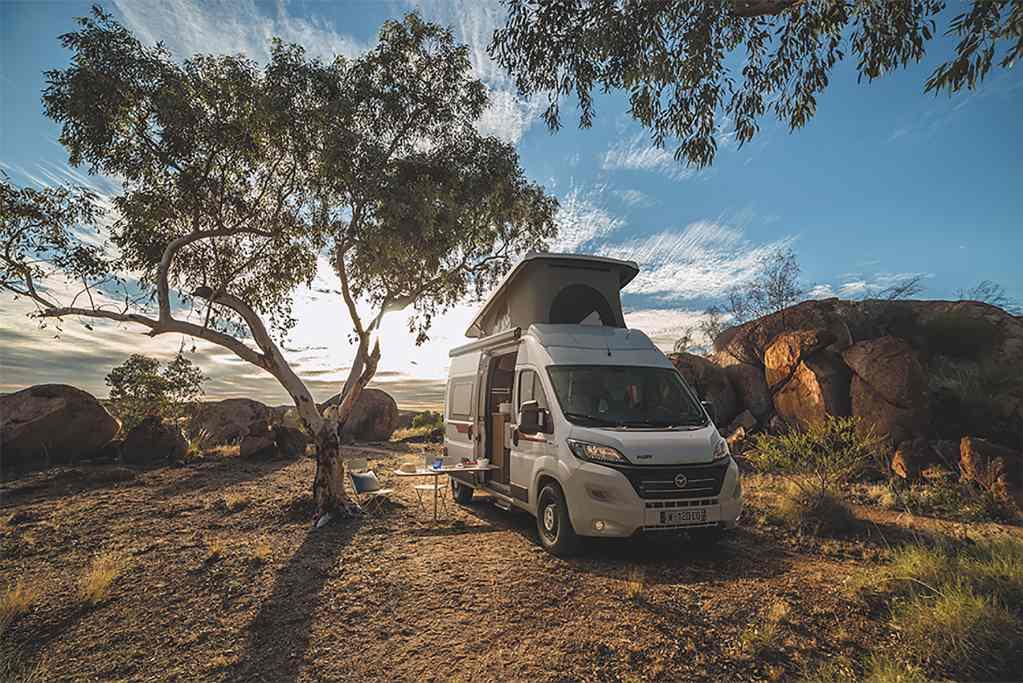 Avis CarAway - Adventure Camper Van Plus 4 pax