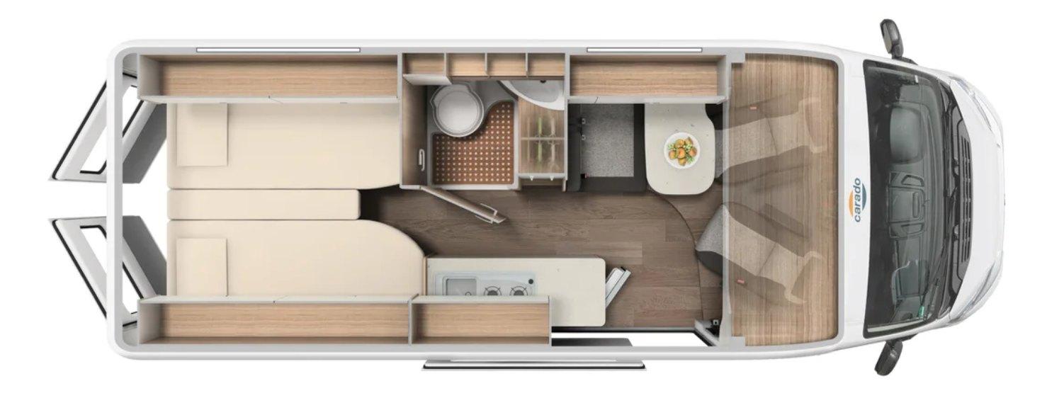 Rent Easy City Extra Carado CV640