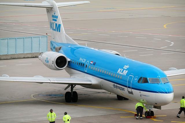 Vliegen met KLM - vliegtickets