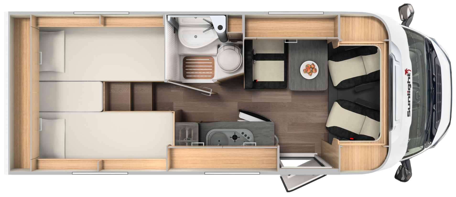 McRent Compact Plus camper