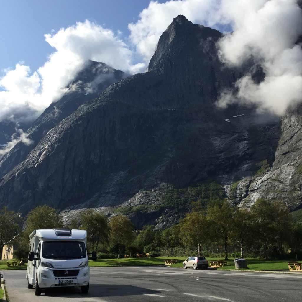 McRent camper in Noorwegen
