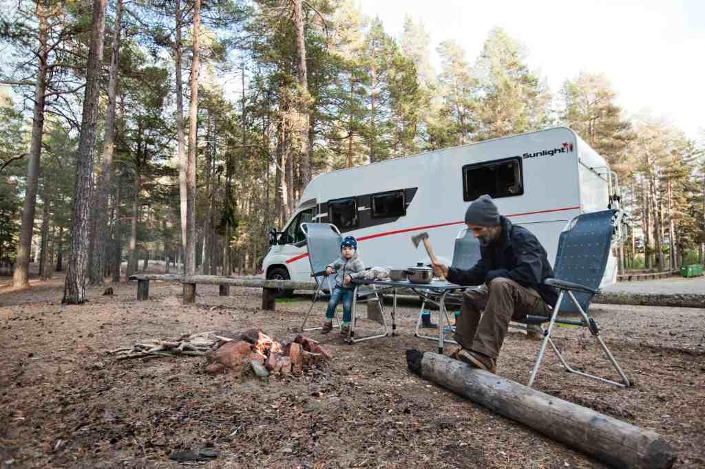 McRent camper Zweden kamperen