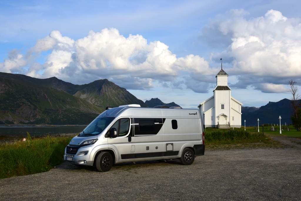 McRent camper Zweden