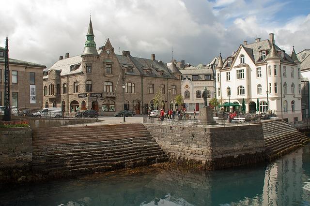 Noorwegen Alesund