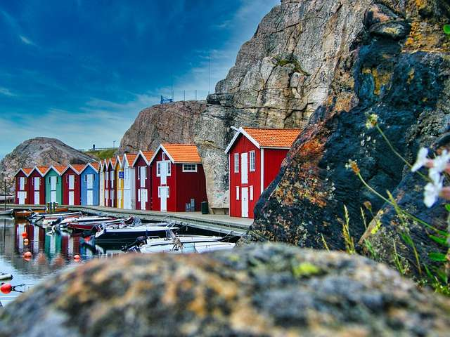 Zweden boothuizen