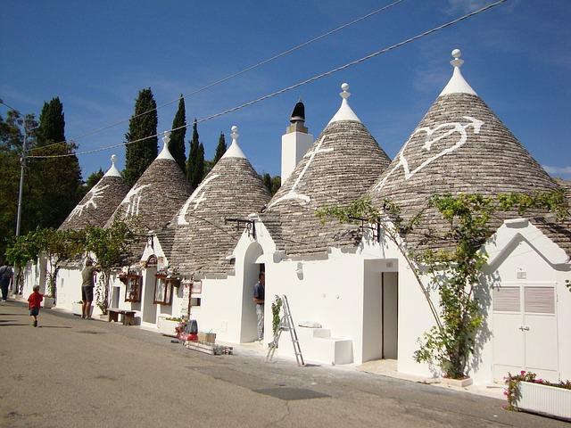 Italië Puglia Alberobello