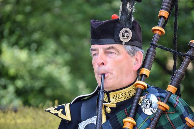 Schotland doedelzak
