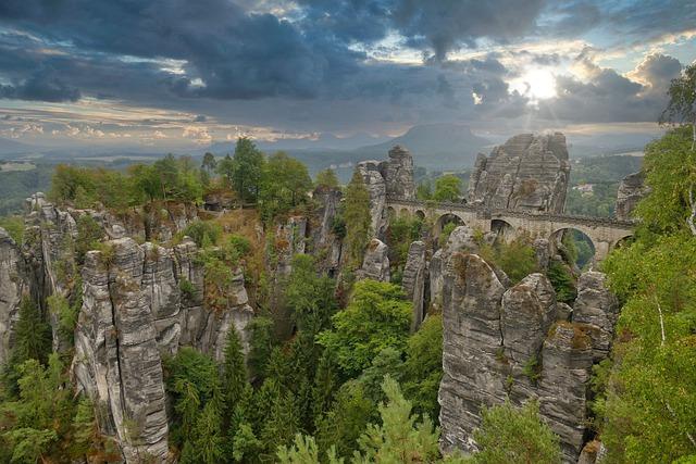 Duitsland Sächsische Schweiz