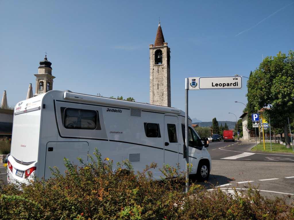 McRent camper in Italië