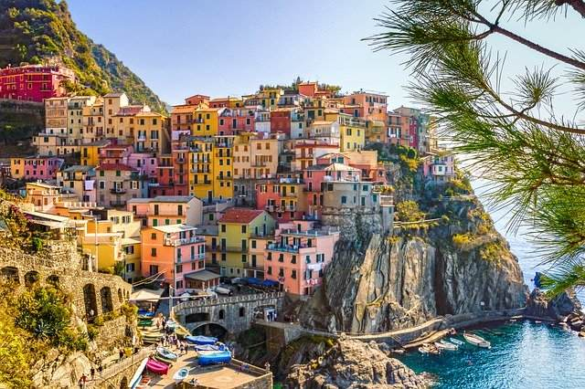 Italië cinque terre Italiaanse Riviera