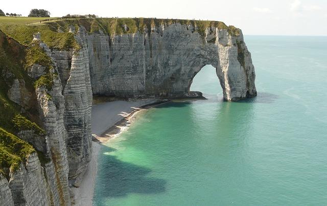 Frankrijk kust van Normandië