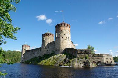 Finland-Savonlinna Fort
