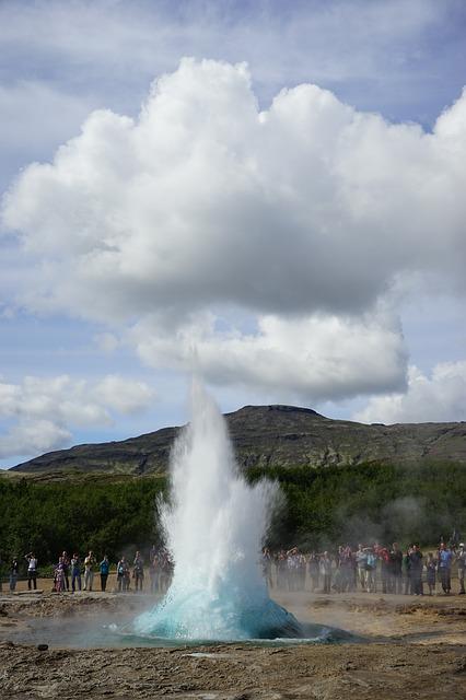 IJsland Strokkur geiser