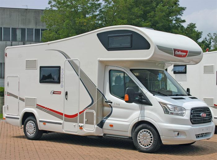 Motorhomes Italy Groep B camper