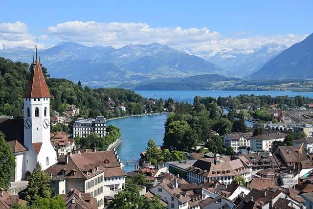 Zwitserland Alpen Thun