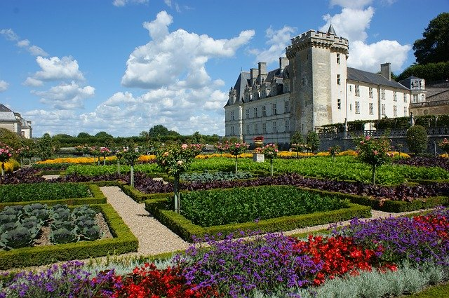 Chateau de Villandry Loire Frankrijk