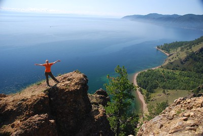 Rusland Baikal meer