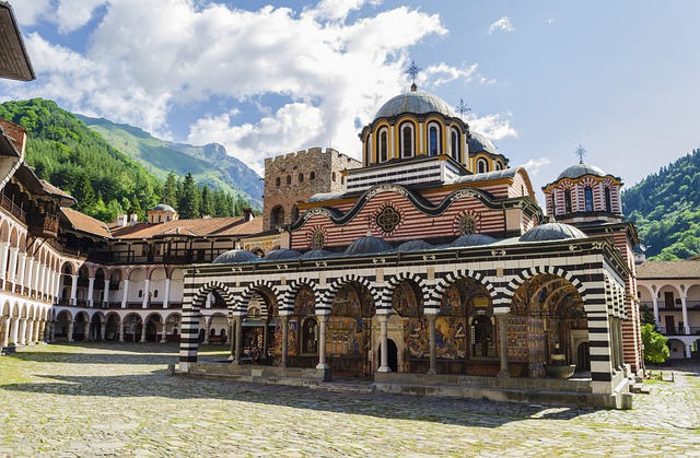 Bulgarije Rila klooster