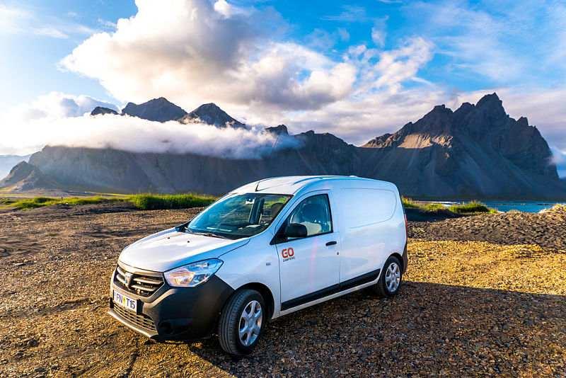 Go Smart camper IJsland