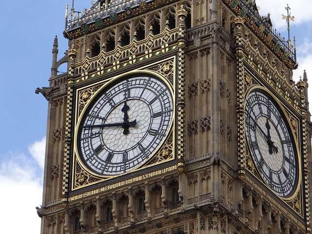 Londen Big Ben klok
