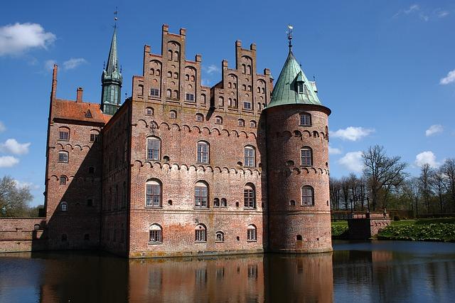 Slot Egeskov Denemarken